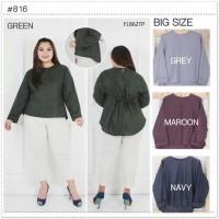 BAJU ATASAN Blouse Jumbo Baju Atasan Wanita Big Size Ukuran Besar