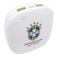 Taff Smart Power Bank 6000mAh 2014 World Cup Team - MP60
