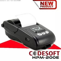 Printer Bluetooth codesoft HP M200E | printer Mobile Codesoft HPM200E