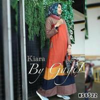 Baju/ jubah/ gamis/ Busana Muslimah KS6522 kiara balotelly