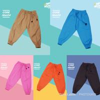 Celana Panjang Joger Jogger Aneka warna bahan baby canvas - JGA 03 B