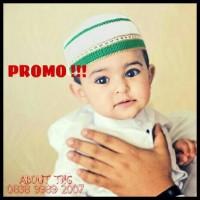 (Best Seller!!) Peci Rajut Anak Kecil Haji Umroh / Kopi Murah