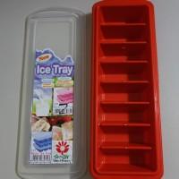 Cetakan Es Batu MPASI ice cube tray dengan tutup lid bayi baby food