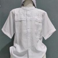 Jual setelan baju Koko anak putih Murah