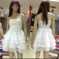 Dress import/Gaun pesta pendek/Baju pesta korea