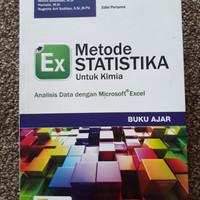Metoda Statitiska untuk Kimia dengan Analisis Data dengan Excel