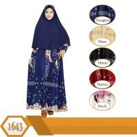 GKS-1560 Baju Muslim Gamis Syari Misby Hijab Wolfis Press