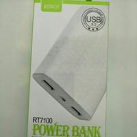 Power Bank 6600 MAH merk ROBOT type RT7100
