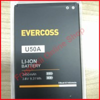 Jual Batre Baterai Battery EVERCOSS U50A 100 % Original WINNER Y STAR Murah