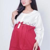 Baju Hamil Muslimah Melly Blouse - BLJ 427