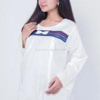 Baju Hamil Muslimah Menyusui Ratna Blose - SJ 361