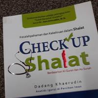 Buku CheckUp Shalat : Sesuai Sunnah Rosululloh saw