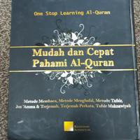 Buku Mudah dan Cepat Pahami Al Qur'an