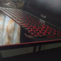 Laptop Gaming Bener Asus ROG G550JK Super Like New MSI Gigabyte Legion