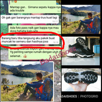 Sepatu KAPPA MS 63 Original Waterproof Outdoor Tracking Hiking