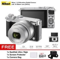 Harga mirrorless digital camera with 10 30mm lens nikon 1 j5 oke | Pembandingharga.com