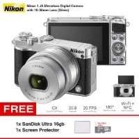 Harga mirrorless digital camera with 10 30mm lens nikon 1 j5 oke | Pembandingharga.com