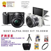 Sony Alpha 5000 Kit - Sony A5000 kit 16-50 OSS oke Terlaris