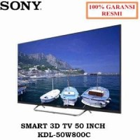 SMART 3D TV 50 INCH KDL-50W800C - Sony oke Asli