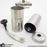 Fleco Manual Coffee Grinder Stainless Steel Alat Giling Kopi Manual