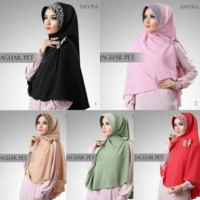 MODEL BARU Khimar Sayra Jilbab Sayra Hijab Sayra Jaguar Pet Free Bros