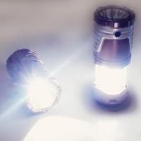 Jual Lampu LED Emergency Solar Cell dan Power Bank