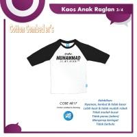 AR 17| Baju Kaos Anak Bandung Raglan Terbaru Muslim Brand Ammarkids