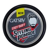 BARU Minyak rambut Gatsby styling pomade 75 g edgy quiff perfeck rise