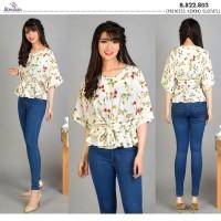 BAJU BLOUSE MURAH Baju Atasan Wanita Murah Blouse Kimono Lengan 3/4