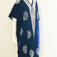 BAJU MUSLIM KAFTAN BATIK Piring. Batik Wanita Modern Indonesia. Dress