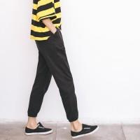 MURAH celana panjang bahan wanita pants jogger kulot pants jeans