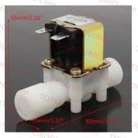 WATER ELECTRIC SOLENOID VALVE 220V NC IN OUT 1/2