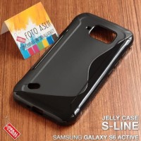 Samsung Galaxy S6 Active - Soft Case Casing Cover Sarung Silikon Karet