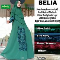 Fashion wanita muslimah belia dress gamis cantik anggun modern
