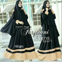 Gamis / Baju / Pakaian Wanita Muslim Farghani Syari