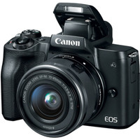 Canon EOS M50 Kit 15-45mm IS STM BLACK HITAM
