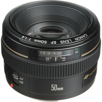 Lensa Canon EF 50mm F1.4 USM ULTRASONIC for canon DSLR