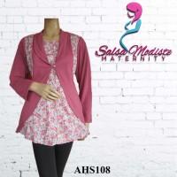 Baju Hamil dan Menyusui Bolero Kombi AHS108
