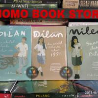 Paket 3 Buku Novel Dilan 1990 , Dilan 1991 dan Milea by : Pidi Baiq