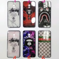 Case Samsung A8 Plus 2018 - SoftCase hp Motif Samsung A8 Plus 2018