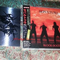CD Sepultura - Blood-Rooted (1st Press +Bonus Sticker)