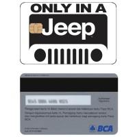 Jeep Kartu e-money E-toll Flazz BCA Custom