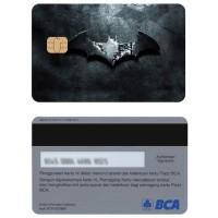 Batman Kartu e-money E-toll Flazz BCA Custom