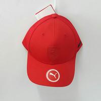 ORIGINAL PUMA FERRARI SF BASEBALL CAP Topi ferrari kasual Pria Merah