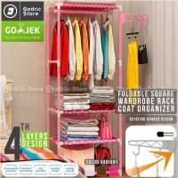 Harga square steady stand hanger