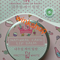 PRETTY WHITE | NATURAL CARE LIP BALM | HALAL | BPOM