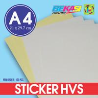 Kertas Stiker HVS A4 / Printable Sticker (bisa di Print)