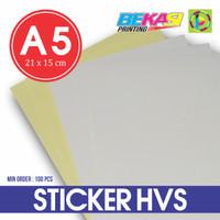 Kertas Stiker HVS A5 / Printable Sticker (bisa di Print)