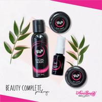 Jual aura beauty paket complete pemutih wajah dengan cepat aman BPOM Murah