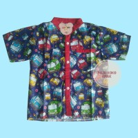 Baju koko anak / Kemeja anak cowok / Baju Atasan Anak Motif Kartun